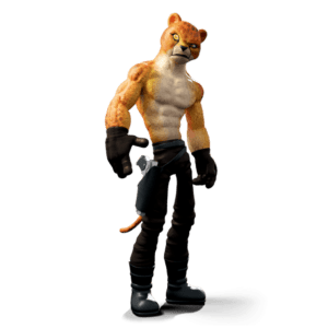 Cheetah Burnstein Maya Rig New